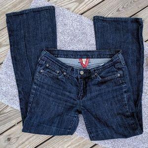 Lucky Dark Flare Jeans, 12/31